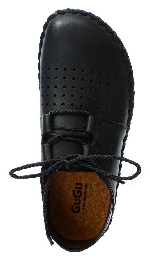 мужские мокасины с перфорацией натуральная кожа gugu германия