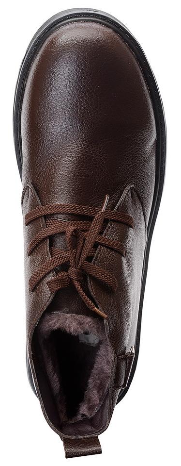 мужские ботинки экокожа / искусственный мех gugu германия
