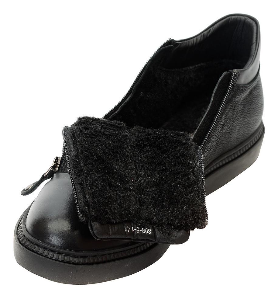 мужские ботинки натуральная кожа / 100% шерсть gugu германия