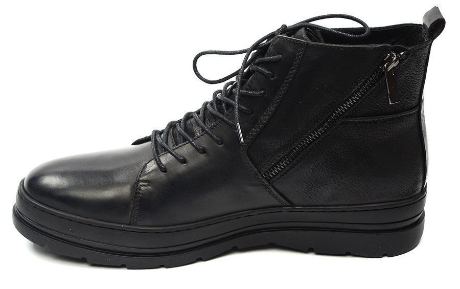 мужские ботинки натуральная кожа / шерсть gugu германия
