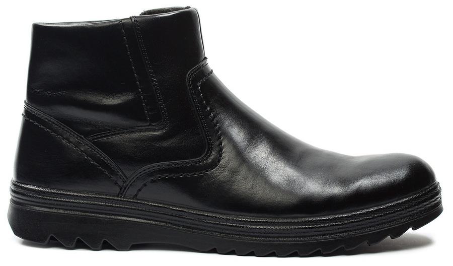 мужские ботинки натуральная кожа / шерсть марко беларусь