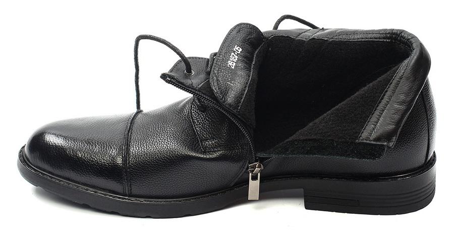 мужские ботинки натуральная кожа / байка corvetto