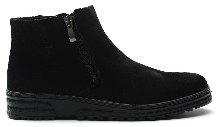 женские ботинки натуральная кожа (велюр) / байка отико беларусь