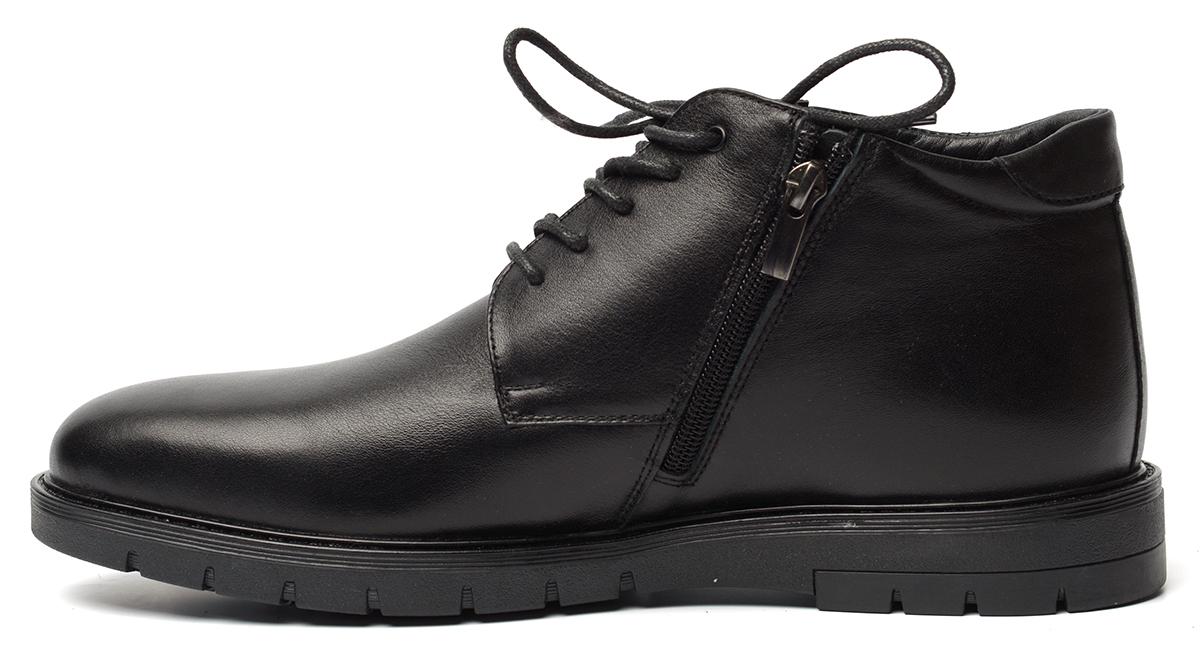 мужские ботинки натуральная кожа / натуральный мех corvetto