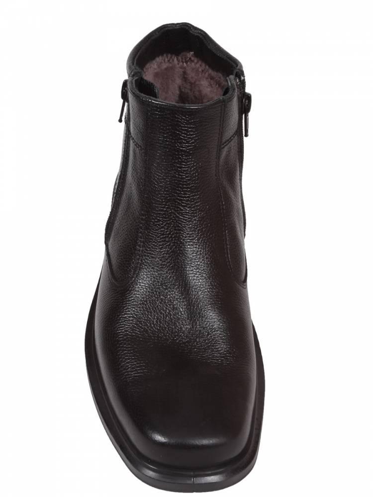 мужские ботинки натуральная кожа / натуральный мех отико беларусь
